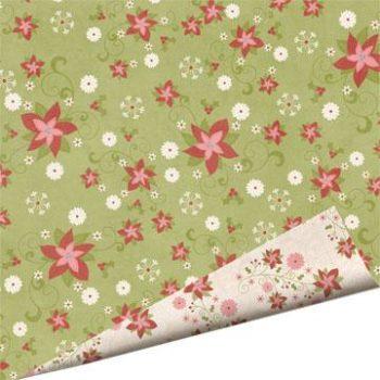 000793 Бумага Snowy Jo - Santas Secret Garden - Imaginisсe 30,5*30,5
