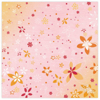 BS0401 Бумага Flower Shower - Flair Design 30,5*30,5см