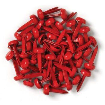 Мини-брадсы Красные 45 мм 25 шт.