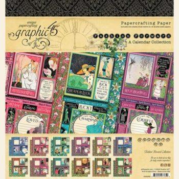 4501969 Набор бумаги Fashion Forward — Graphic 45, 20*20см 24 листа