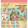 4502103 Набор бумаги Ephemera Queen — Graphic 45, 20*20см 24 листа