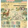 Набор бумаги Woodland Friends - Graphic 45, 20*20см 24 листа