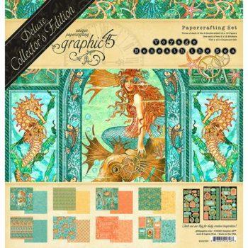 4502166 Полный набор Voyage Beneath the Sea — Graphic 45, Deluxe Collectors Edition