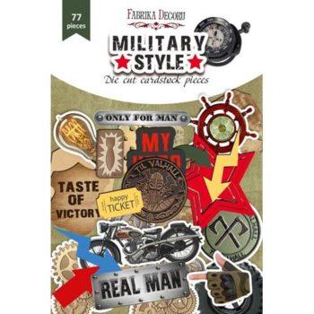 Набор высечек Military style — Фабрика Декору, 77шт