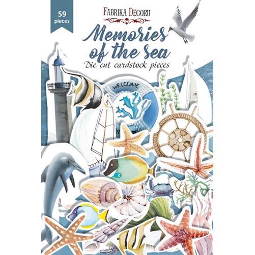 Набор высечек Memories of the sea — Фабрика Декору, 59шт