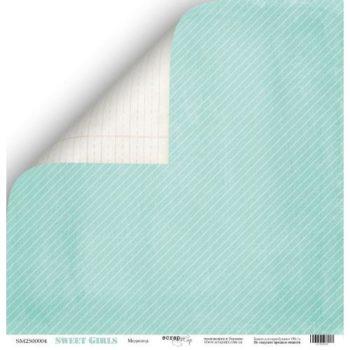 Лист бумаги Sweet Girls – Модница от Scrapmir 30,5*30,5