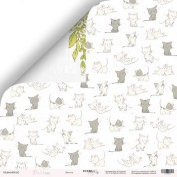 Лист бумаги Pur Pur – Котята от Scrapmir 30,5*30,5