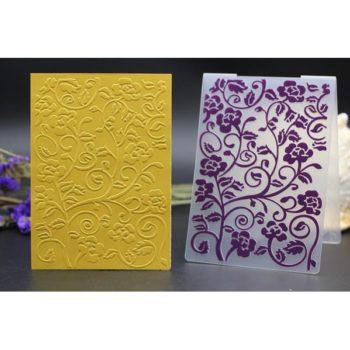 Форма для тиснения Цветы - CraftBox, 14,5*10,5 см