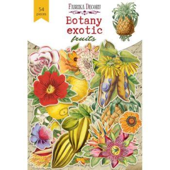 Набор высечек Botany exotic fruits - Фабрика Декору 54 шт