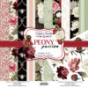 Набор скрапбумаги Peony passion (Пионовая страсть) - Фабрика Декору 30,5x30,5см
