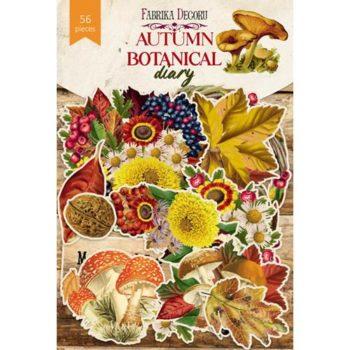 Набор высечек Autumn botanical diary - Фабрика Декору 56 шт