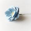 Цветок из бумаги Голубой 3,5см