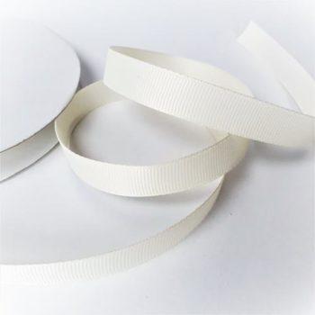 Лента репсовая Молочная 12 мм